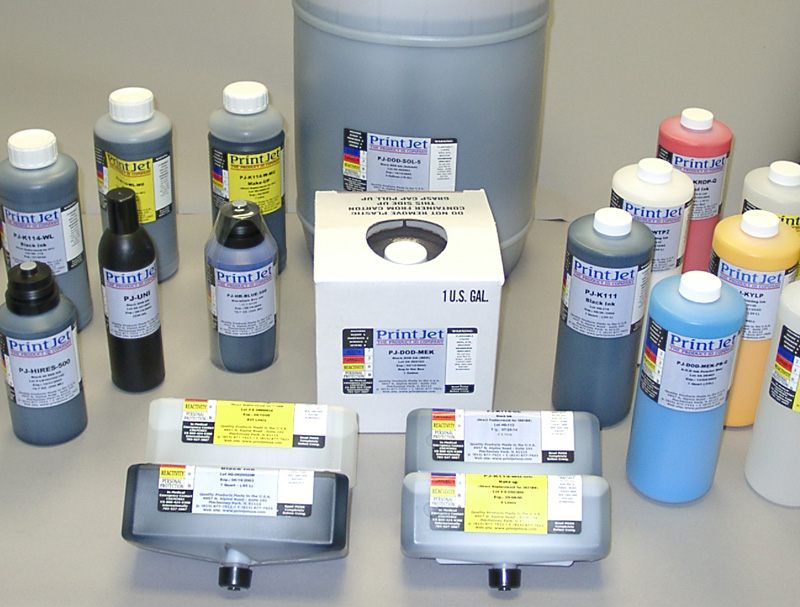Hi-Res Inks for Trident and Xaar Printheads
