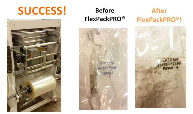 FlexPackPRO before and after output